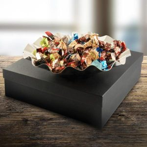 Medium Wave Bowl Gift Pack with 30 Truffles