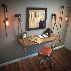 Pipe and Rope Desk