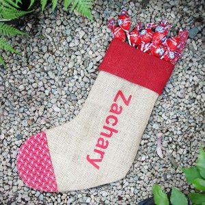 Personalised Christmas Sock