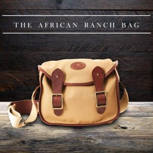 Canvas African Ranch Shoulder Strap Bag