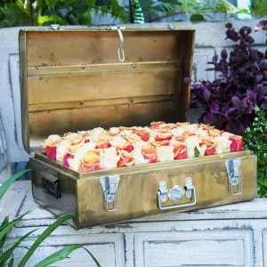 Mixed Roses Suit Case