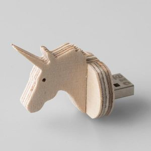 Unicorn Shaped 8GIG USB Flash Drive