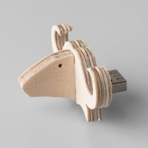 Buffalo Shaped 8GIG USB Flash Drive