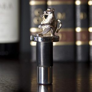 Silver Plated Wine Bottle Stopper