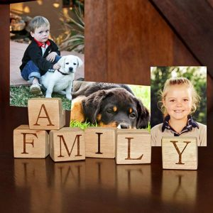 Personalised Family blocks