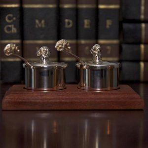 Silver Plated Salt  & Pepper Set