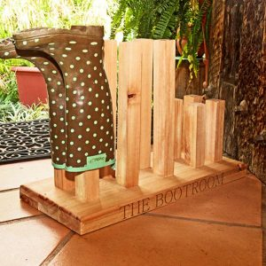 Personalised Kiaat Book Rack