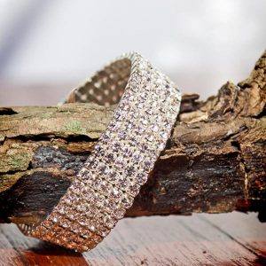 Diamante 5 row sparkle Bracelet