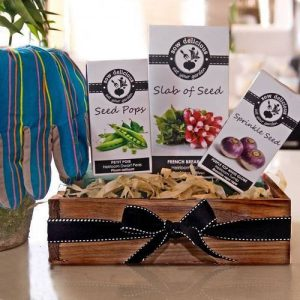 Gardeners Heirloom Seed Slabs Gift Hamper