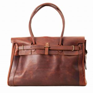 Leather Nairobi Race Day Bag
