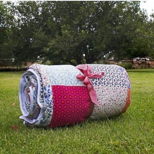 Patchwork Family Picnic Blanket