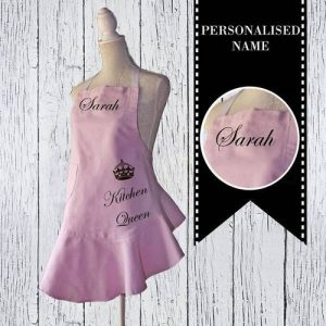 Pretty in Pink Personalised Apron