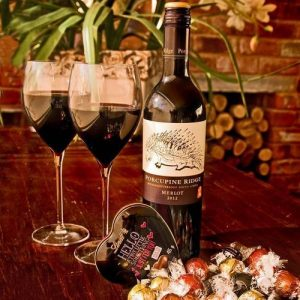 Porcupine Ridge Wine and Chocolate Gift Hamper