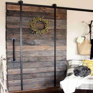 Barn Door on Rollers