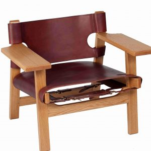 Steadfast Leather Chair
