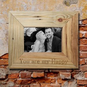 Personalised Wooden Picture Frame