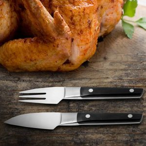 Roma Mini Carving Set/Steak Knife Set