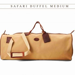 Canvas Safari Duffel Bag